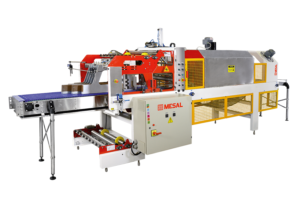Sealing Packaging Machine with Shrink Tunnel